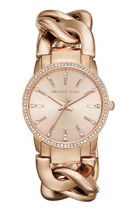Michael Kors Casual Style Studded Chain Round Party Style Quartz Watches