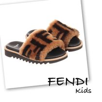 FENDI Unisex Petit Kids Girl Sandals
