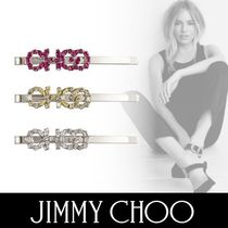 Jimmy Choo Casual Style Collaboration With Jewels Hair Accessories