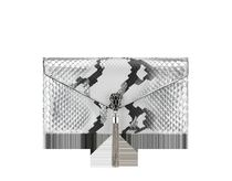 Bvlgari Casual Style Tassel Bi-color Party Style Python