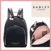 RADLEY Casual Style Nylon Leather Office Style Backpacks