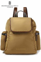 BRUNELLO CUCINELLI Casual Style Plain Backpacks