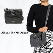 alexander mcqueen 2WAY Other Animal Patterns Leather Shoulder Bags