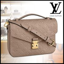 Louis Vuitton MONOGRAM EMPREINTE Monogram Casual Style 3WAY Leather Satchels