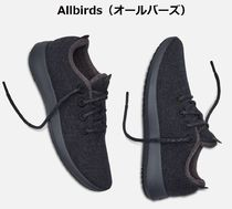 allbirds Driving Shoes Blended Fabrics Street Style Plain