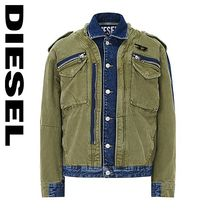 DIESEL Denim Street Style Denim Jackets Jackets
