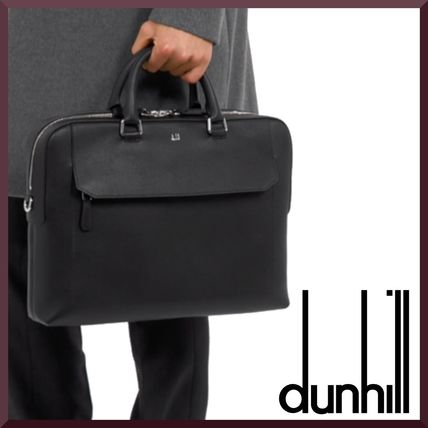 A4 Plain Leather Logo Business & Briefcases