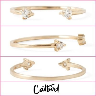 Casual Style Street Style Party Style Office Style 14K Gold