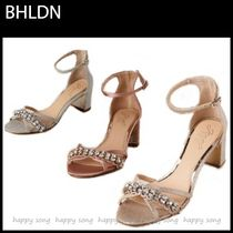 BHLDN Open Toe Party Style Elegant Style Heeled Sandals