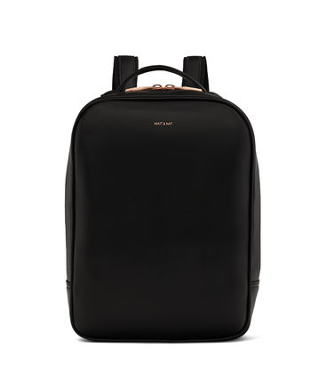 Casual Style Plain Leather Office Style Backpacks