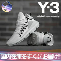 Y-3 Unisex Blended Fabrics Street Style Collaboration Sneakers