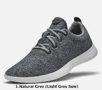 allbirds Runners Driving Shoes Blended Fabrics Street Style Plain