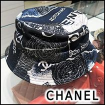 CHANEL 2020 SS HAT black & gray more hats& hair accessories