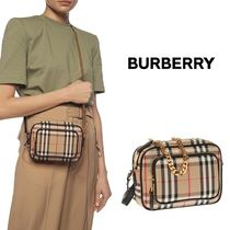 Burberry Other Check Patterns Shoulder Bags