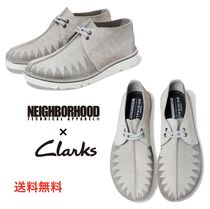 NEIGHBORHOOD Driving Shoes Blended Fabrics Street Style Collaboration