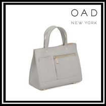 OAD NEW YORK Casual Style Leather Elegant Style Shoulder Bags