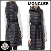 MONCLER Casual Style Street Style Plain Vest Jackets