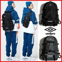 UMBRO Casual Style Unisex Street Style A4 2WAY Satchels