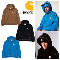 Carhartt Pullovers Street Style Collaboration Long Sleeves Plain