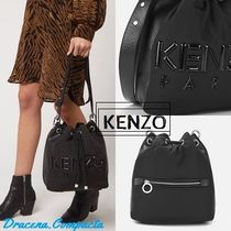 KENZO Casual Style Plain Bags