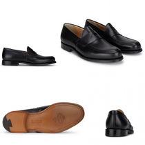 Church's Plain Toe Loafers Plain Leather Loafers & Slip-ons