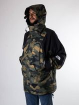 THE NORTH FACE 1990 MOUNTAIN JACKET GTX Camouflage Unisex Blended Fabrics Street Style Plain