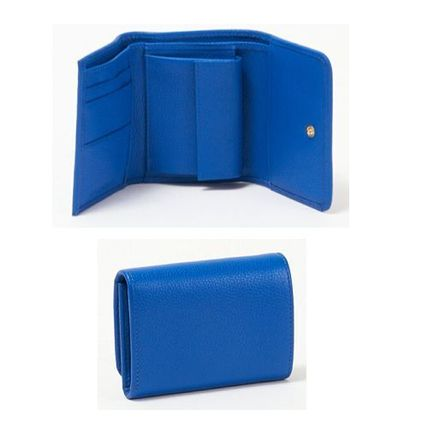 Bi-color Leather Folding Wallet Folding Wallets