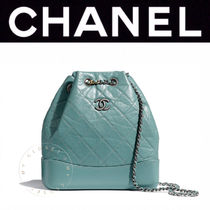 CHANEL MATELASSE Casual Style Calfskin Blended Fabrics Street Style Chain