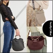 See by Chloe Casual Style 2WAY Leather Shoulder Bags