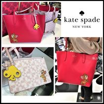 kate spade new york Casual Style Collaboration Leather Totes