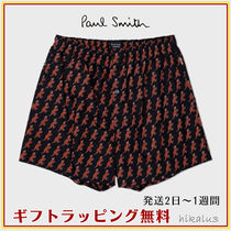 Paul Smith Monogram Other Animal Patterns Cotton Logo Trunks & Boxers