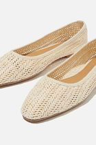 Cotton on Round Toe Casual Style Plain Flats