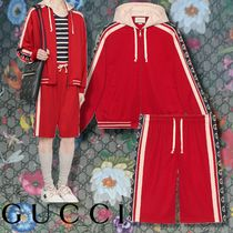 GUCCI 【GUCCI】 Technical jersey bomber jacket & shorts
