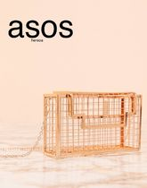 ASOS Casual Style Street Style Plain Shoulder Bags