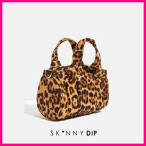 SKINNYDIP Leopard Patterns Casual Style Street Style 2WAY Crossbody