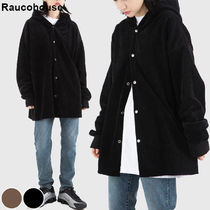 Raucohouse Casual Style Unisex Corduroy Street Style Collaboration