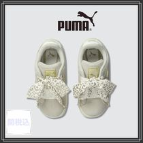 PUMA SUEDE Unisex Street Style Baby Girl Shoes