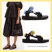 CECILIE BAHNSEN Platform Casual Style Footbed Sandals Flat Sandals