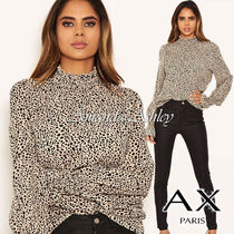 AXPARIS Casual Style Long Sleeves Other Animal Patterns Medium