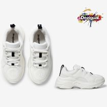 Desigual Rubber Sole Casual Style Low-Top Sneakers