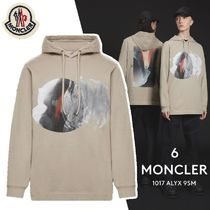 MONCLER MONCLER GENIUS Crew Neck Unisex Street Style Collaboration Long Sleeves
