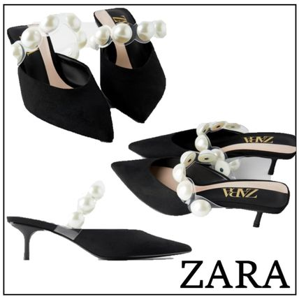 Casual Style Plain Pin Heels Party Style Elegant Style