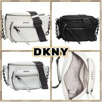 DKNY Casual Style Faux Fur Plain Party Style Office Style
