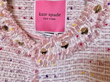 kate spade new york Wool Plain Medium Coats