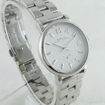 Marc by Marc Jacobs Casual Style Round Quartz Watches Stainless Office Style