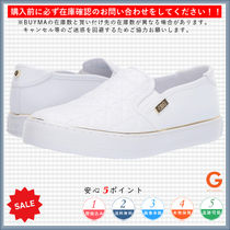 G BY GUESS Round Toe Casual Style Faux Fur Plain Low-Top Sneakers