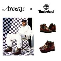 Timberland Unisex Street Style Collaboration Oversized Boots
