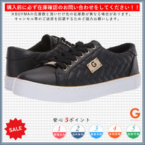 G BY GUESS Round Toe Rubber Sole Lace-up Casual Style Plain