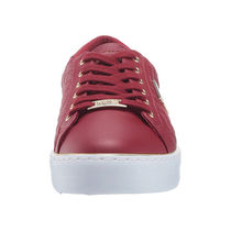 G BY GUESS Round Toe Rubber Sole Lace-up Casual Style Plain Logo