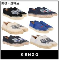 KENZO Casual Style Flats